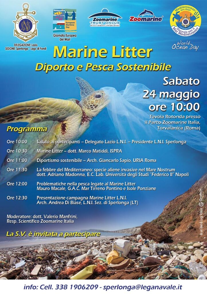 Marine Litter: Diporto e Pesca Sostenibile